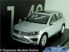 VOLKSWAGEN VW TOUAREG CAR MODEL 1:43 SCALE SILVER HERPA SPECIAL DEALER ISSUE K8