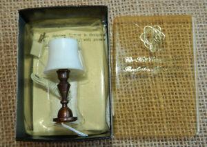 Vintage Dollhouse Miniature Table Lamp Light 1:12 Scale New #61