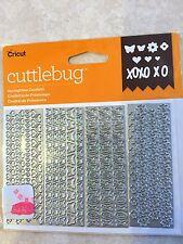 Cricut Cuttlebug Cut & Emboss Die Set Springtime Confetti 2003775 NEW