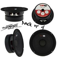 "4) NEW DS18 PRO-GM6 6.5"" Midrange Loudspeakers 8 ohm Speakers Mid Range"