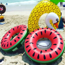 Pastèque Bouée Piscine Jouet Gonflable Enfants Adultes flottant amusant 91cm