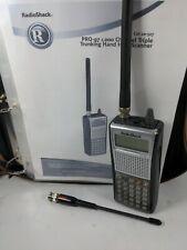 RADIO SHACK PRO-97 1000 Channel Triple Trunking Police Fire Radio Scanner