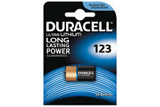 Duracell CR123 3V Ultra Lithium Battery Long Lasting Power Cameras Flashlights