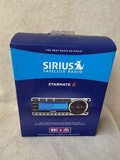 New sealed Sirius Starmate 4 ST4 Satellite Radio Receiver W/Car Kit ST4TK1
