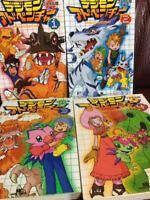Manga DIGIMON ADVENTURE File Island ver. VOL.1-4 Comics Complete Set
