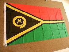 VANUATU FLAG FLAGS 5'X3' POLYESTER BRAND NEW POST FREE IN UK