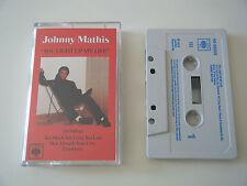 JOHNNY MATHIS YOU LIGHT UP MY LIFE CASSETTE TAPE ALBUM CBS UK 1978