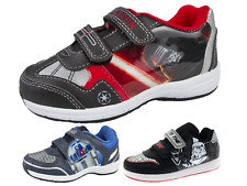 Boys Disney Star Wars Sports Trainers Flat Skate Shoes Character Pumps Size