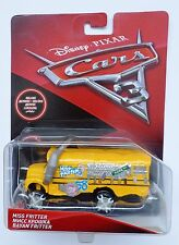 Disney Pixar Cars 3  MISS FRITTER  Deluxe Rare Over 100 Cars Listed UK !!