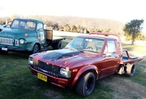 Toyota Hilux 1983 V8 Custom Ute Registered Starts Runs Drives Beautifully