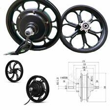 Brushless Non-gear Hub Motor 36v350w 48v500w With 12inch Front Aluminum Rim