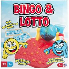 BINGO FAMILY GAME LOTTO 90 BALLS 24 CARDS TRADITIONAL CHILDRENS BOARD GIFT SMALL