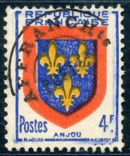 STAMP / TIMBRE FRANCE PREOBLITERE ARMOIRIE ANJOU NEUF SANS GOMME N° 105