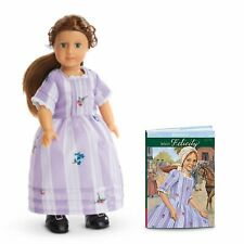 ❄️American Girl Felicity Mini Doll w/mini book in Winter Wonderland Gift Box ❄️
