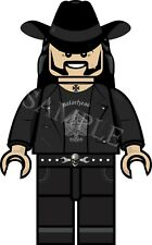 LEGO MOTORHEAD, LEMMY KILMISTER VINYL STICKER CAR DECAL, U.K POST ONLY