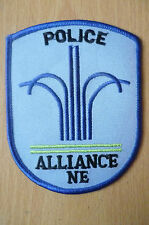 Patches: ALLIANCE NE POLICE PATCH (NEW* apx.10x8 cm)
