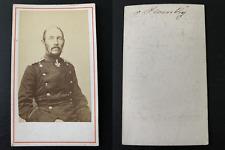 Heinrich Ludwig Franz von Plonski Vintage albumen print CDV.Heinrich Ludwig Fr