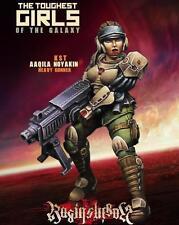 Raging Heroes Aaqila Noyakin Heavy Gunner Kurganova Shock Troops