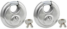 Lock Set by Master 40KA (Lot 2) Keyed Alike Round Weather Resistant Stainless