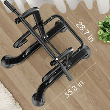 Home Gym Dip Station Power Tower Pull Up Bar Strength Training Workout Equipment