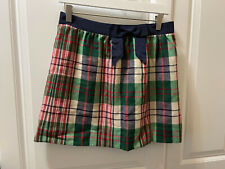 Vineyard Vines Tartan Bow Skirt Size 4
