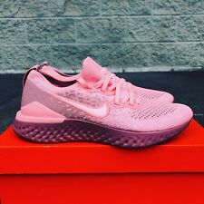 NEW Women's Nike Epic React Flyknit 2 Rust Pink Athletic Shoes Size 9