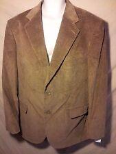 NEW Men's Hunt Valley Sport Coat Corduroy Blazer Suit Separate Brown $120-42 L
