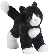 Douglas Plush Snippy Black and White Cat Stuffed Tuxedo Kitten Cuddle Toy New