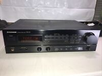 Pioneer SX-225 Stereo Receiver Works! Good Condition!