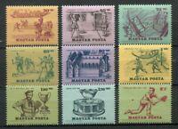 32219) Hungría 1965 MNH History Of Tenis 9v