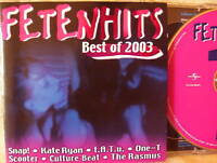 FETENHITS- Best of 2003- 2 CDs  WIE NEU