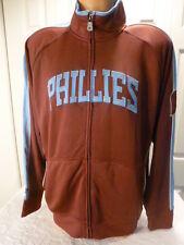 9601-115 PHILADELPHIA PHILLIES Authentic Throwback Full Zip Jersey JACKET