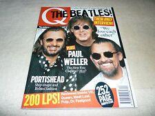 Q MAGAZINE DECEMBER 1995  NUMBER 111 - BEATLES, PORTISHEAD, PAUL WELLER