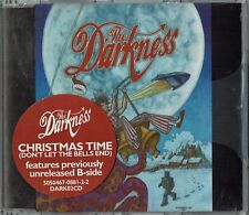 "THE DARKNESS - 5"" CD -  Christmas Time. 2 Track  Atlantic.  Sealed"