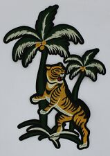 Palm Tree Tiger: Embroidery Patch