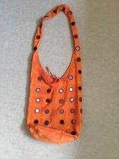 Ladies orange shoulder bag
