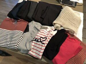Ladies Size 16/XL Bulk Lot Pants/Knit Tops/Scarf - BNWT RRP $720