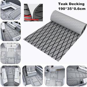 Durable Soft EVA Car Trunk Sheet Pad Yacht Boat Flooring Mat Faux Teak Decking