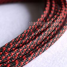 3mm High Densely Tight Braided PET Expandable Sleeving Cable Wire Sheath
