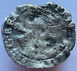 1554-58 Philip & Mary Silver Hammered Groat Tudor Coin