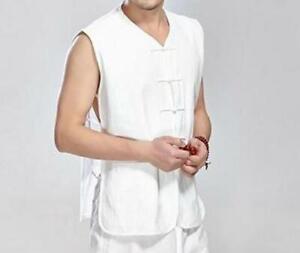 Traditional Chinese Tang Fu Mandarin jacket  Top Men Kung Fu Tai Chi Clothes