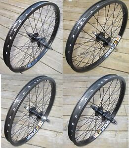 """Wheel 20"""" variations BMX Front or 9T or Flip Flop Rear Double Walled Rims New"""