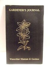 Vintage Gardener's Journal Winterthur Museum & Gardens 1985