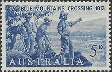 Australia 1963 5d BLUE MOUNTAINS CROSSING 150th Anniversary Unh Mint, SG 352