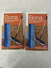 Set Of 2 Bona Microfiber Cleaning Pad for Multi-Surface Floors