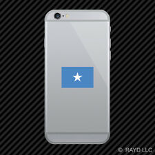 Somali Flag Cell Phone Sticker Mobile Somalia SOM SO