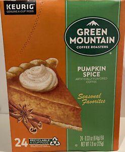 Green Mountain Coffee K-Cup for Keurig Brewers - 24 Count, Pumpkin Spice