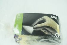 Hyflex Ansell Size XS Cut Resistant Gloves,11-510 size 6