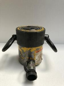 """ENERPAC RC 502 DUO SERIES HYDRAULIC CYLINDER 50 TONS CAPACITY 2"""" STROKE (5)"""