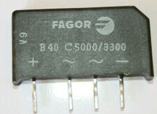 PUENTE RECTIFICADOR B40 C5000/3300 40 V 3.3/5A (New Old Stock)